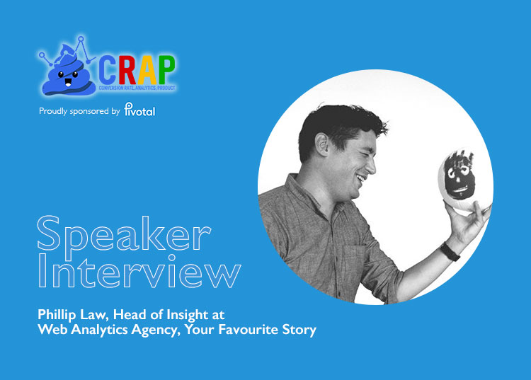 Crap Talks 14 Speaker Interview with Phillip Law